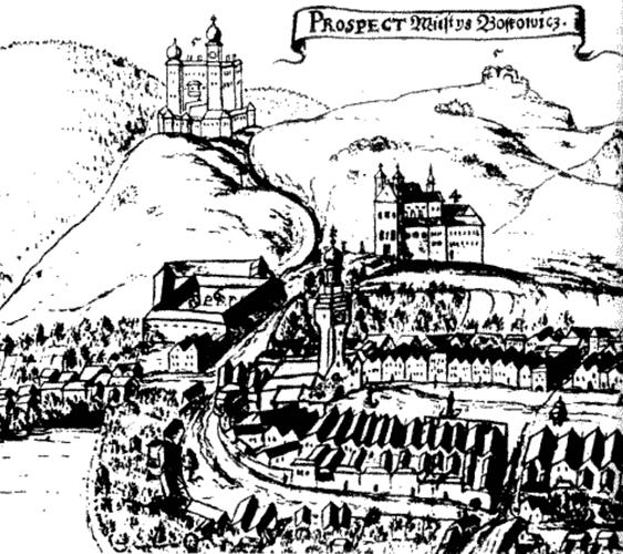 Stará kresba Boskovic